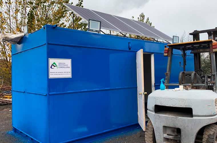 Arriendo container oficina faena